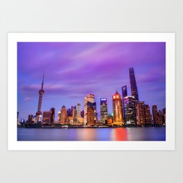 Shanghai - World Big City Art Print