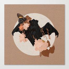 Bat Rises Canvas Print
