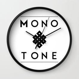 Eternal Monotone Wall Clock