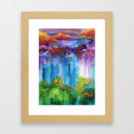 The Morning Stars Framed Art Print