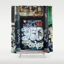 Graffiti NYC Shower Curtain