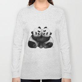 Panda's Hugs G143 Long Sleeve T-shirt