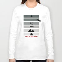 inception Long Sleeve T-shirts featuring Inception by Duck