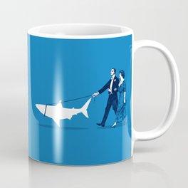 Walking the Shark Coffee Mug