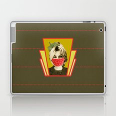 i guess she is a vegan Laptop & iPad Skin