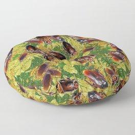 Cockroaches Floor Pillow