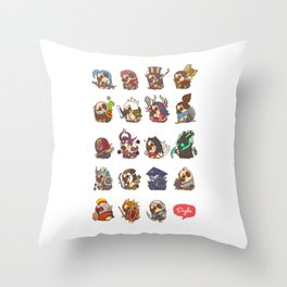 Puglie LoL Vol.1 Throw Pillow