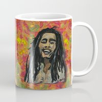rasta Mugs featuring Rasta  Man by gretzky