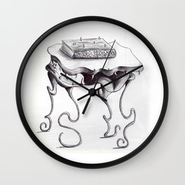Monster Table Wall Clock