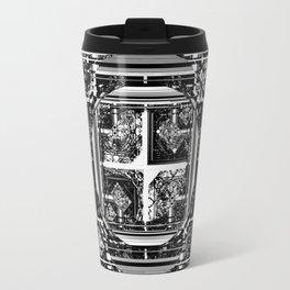 looking for something (black and white) Travel Mug
