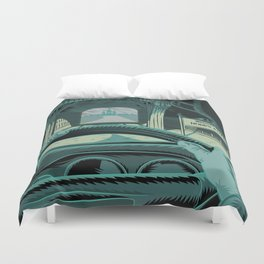 In The Mouth Of Madness Duvet Cover