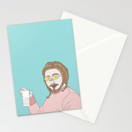 Posty Malone Drinking Milk Stationery Cards