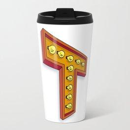 The T Letter Travel Mug