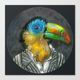 yuppie toucan Canvas Print