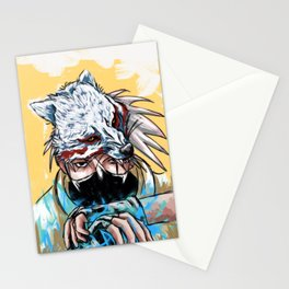 Abstract Kakashi Stationery Cards