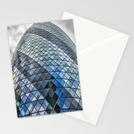 London The Gherkin  30 St Mary Axe Stationery Cards
