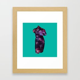 She Who Lives Delicately Framed Art Print