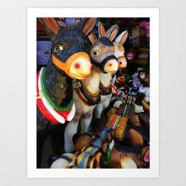 Market in Tijuana Art Print