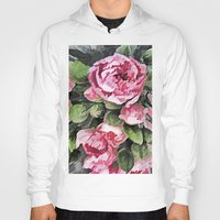 botanical Hoodies featuring Botanical Beauty by lillianhibiscus