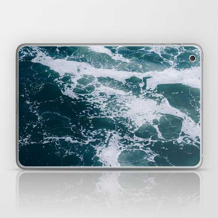 Ocean Marble Texture Laptop Ipad Skin By Followmeaway Society6