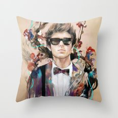The Velveteen Rabbit Throw Pillow