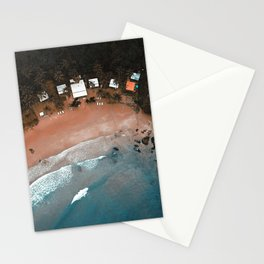 Tropical Beach Vibes Palawan Philippines  Stationery Cards