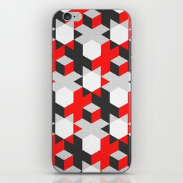 Volumetric contrast iPhone Skin