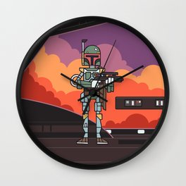 EP5 : Boba Fett Wall Clock