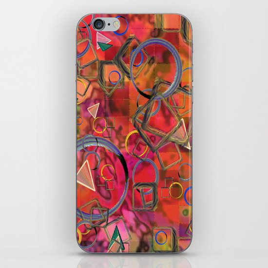 Rings and Things iPhone Skin
