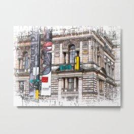 15th street Glasow Metal Print