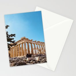 The Parthenon, Acropolis of Athens, Greece photography, ancient Greek Stationery Cards