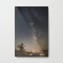 South Lake Tahoe Milky Way Metal Print