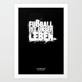 Leben Art Print