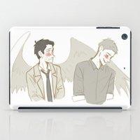destiel iPad Cases featuring Destiel1 by Linneart