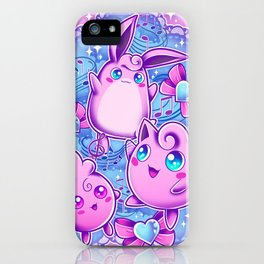 Jiggly Family iPhone Case
