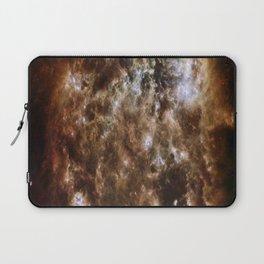 brown white Laptop Sleeve