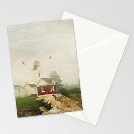 A Morning in Maine Stationery Cards