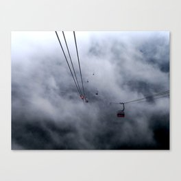Direct access to outer space? Canvas Print