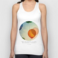 happiness Tank Tops featuring Happiness... by Alicia Bock