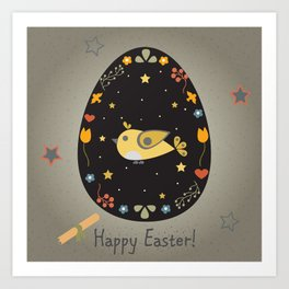 Easter Bird Art Print