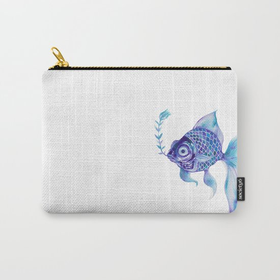 Baby Blue #5 Carry-All Pouch