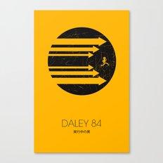 Daley 84 Canvas Print