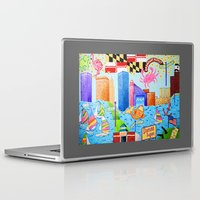 baltimore Laptop & iPad Skins featuring Baltimore, Maryland by Karen Riddle