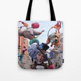Fallas is a phenomenon, Valencia Spain Tote Bag