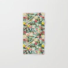 Floral and Birds III Hand & Bath Towel