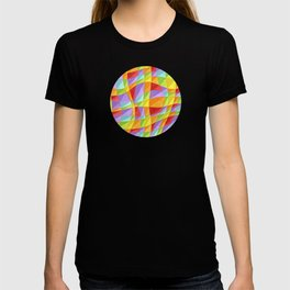 Groovy Rainbow Plaid T-shirt