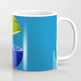 Tennis ball lemon Coffee Mug