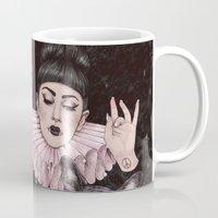 dress Mugs featuring Dress Up by Helen Green
