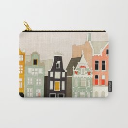 Amsterdam travel city shapes abstract Carry-All Pouch