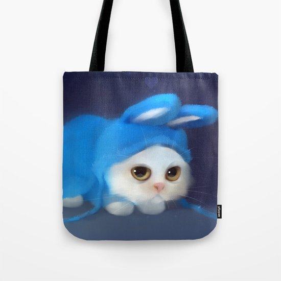 Team Bunny Tote Bag
